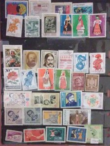 61 Bulgaria for less than 5c a stamp.