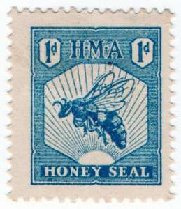 (I.B) New Zealand Revenue : Honey Seal 1d