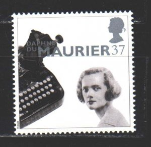 England. 1996. 1650 from the series. Morye English writer. MNH.