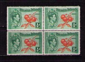 PITCAIRN ISL Sc# 1 MNH FVF Blk4 Cluster of Oranges on Branch