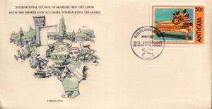 Antigua, First Day Cover, Art