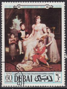 Dubai 132 CTO 1970 Children's Day