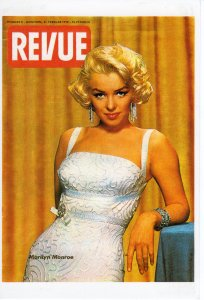 MARILYN MONROE POST CARD METRO MUSIC