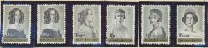 Belgium Stamps Scott #B724 To B729, Mint Hinged - Free U.S. Shipping, Free Wo...