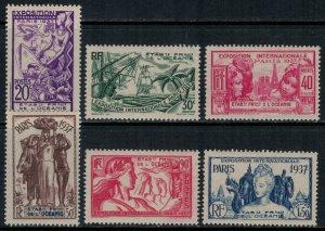 French Polynesia #117-22* NH  CV $24.00