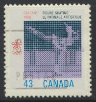 Canada SG 1283 Used  Figure Skating Winter Olympics   see details