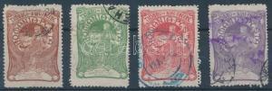 Romania stamp Welfare (I) set Used 1906 Mi 161-164 WS137786
