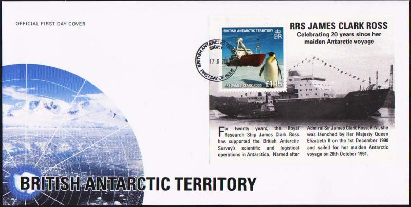 British Antarctic Territory Scott C11 Unaddressed.