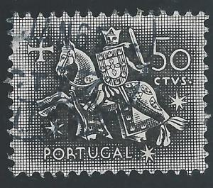 Portugal #764 50¢ Equestrian Seal of King Diniz