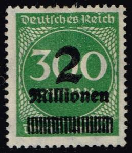 Germany #270 Numeral Inflation Overprint; Unused (0.25)