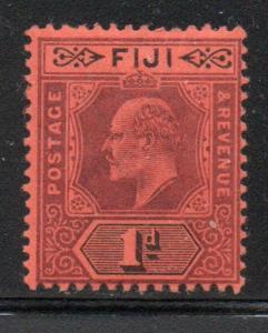Fiji Sc 60 1903 1d violet & black Edward VII stamp mint