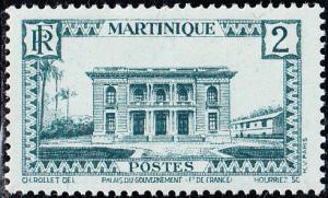 Martinique #134 MH