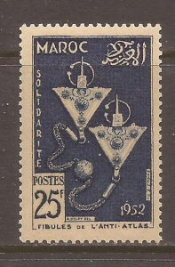 French Morocco Scott #287 m/nh stock #N4936