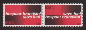 South Africa  #517-518a   MNH  1979   save fuel  pair