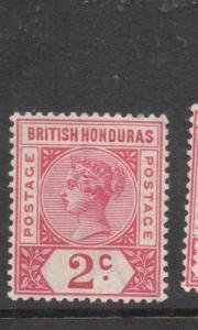 [SOLD] British Honduras SG 52 MOG (8dhw)