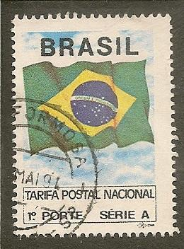 Brazil   Scott  2320    Flag     Used
