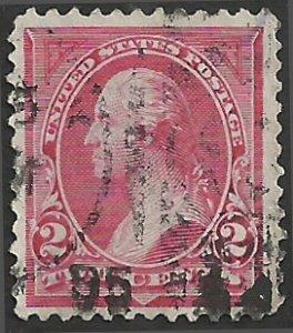 # 265 Carmine Used FAULT George Washington