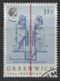 GB SG 1257 SC# 1061 - Used First Day Cancel - Greenwich Meantime