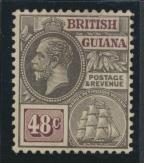 British Guiana SG 279 Mint Hinged  (Sc# 198 see details)