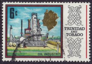 Trinidad & Tobago - 1969 - Scott #147 - used - Oil Industry