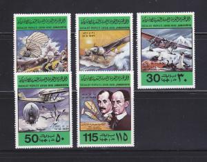Libya 769-773 Set MNH Planes