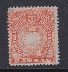 BRITISH EAST AFRICA, Scott 16, MNG (no gum)
