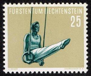 Liechtenstein Stamp 1957 Gymnastics MH/OG STAMP 25 RP