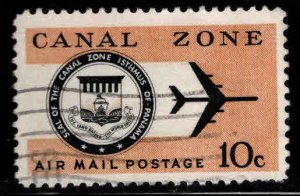 Canal Zone Scott C48 used airmail