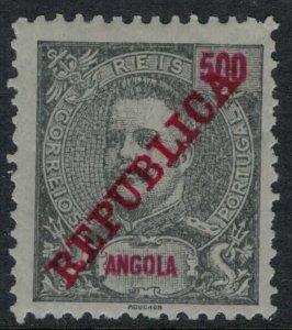 Angola #101* CV $4.75