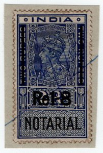 (I.B) India Revenue : Notarial 1R 8a on 2R OP