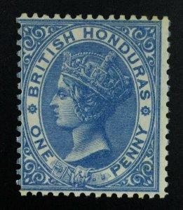 MOMEN: BRITISH HONDURAS SG #2 NO WMK 1865 MINT OG NH £100++ LOT #61810