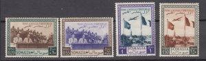 J27243 1951 italian Somalia mnh #181-2,C27A-27B airplanes