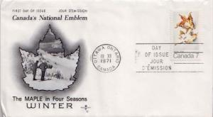 Canada, First Day Cover, Plants