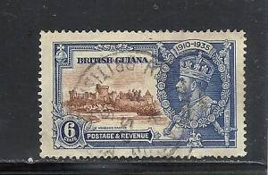 British Guiana #224 used cv $5.50