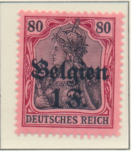 Belgium, German Occupation Stamp Scott #N7, Mint Hinged - Free U.S. Shipping,...