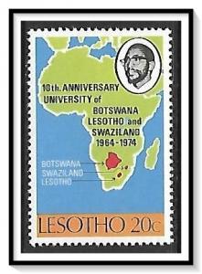 Lesotho #158 University of Botswana MNH