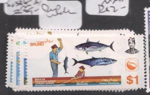 Brunei SG 336-9 Price Is For One Set MNH (1deo)