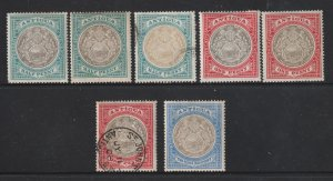 Antigua a small lot mainly MH from the 1903-17 series