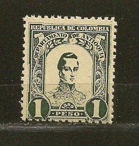 Antioquia 126 General Cordoba MNH