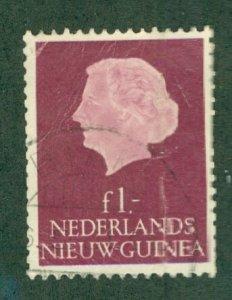 R84-0010 NETHERLANDS NEW GUINEA  37 USED SCV $2.25 BIN $1.25