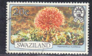 SWAZILAND SC# 355  USED  20c 1980    SEE SCAN