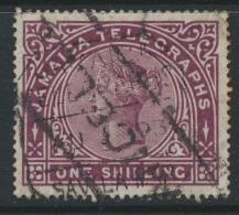 Jamaica Telegraph Stamp  Used SG T2  Used see details