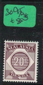 Malaysia SG D15 MNH (8exc)