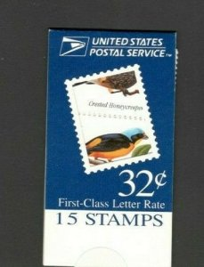 BK272 Tropical Birds Booklet Of 15 Mint/nh (Free Shipping)