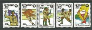 1987 Lesotho World Boy Scout Jamboree Australia soccer football