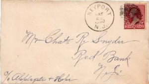 United States New Jersey Keyport 1890 cork killer  1880-1894.