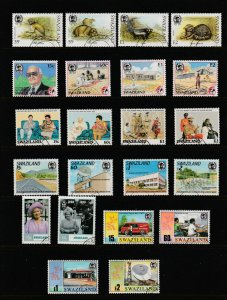 Swaziland x 8 used sets & a pair modernish