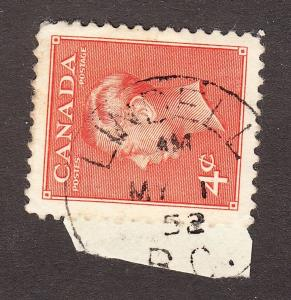 CANADA  BRITISH COLUMBIA CANCEL   LINDELL