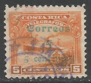 COSTA RICA 100 VFU 93G-2