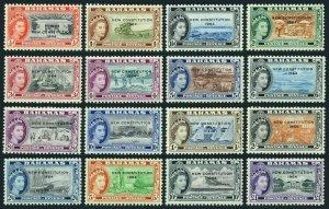 Bahamas 185-200,MNH.Michel 190-205. New Constitution 1964.QE II,Views.Fishing,